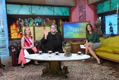 Guillermo del Toro y Laura G en Despierta