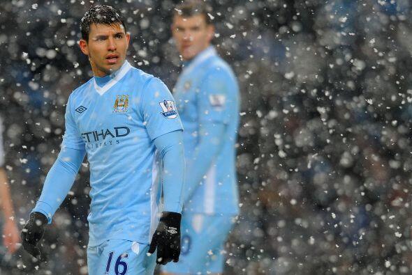 Pero sin embargo el 'City' jugó muy seguro y mantuvo la punta del...