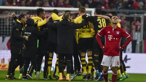 Borussia Dortmund derrotó 3-2 a Bayern Múnich