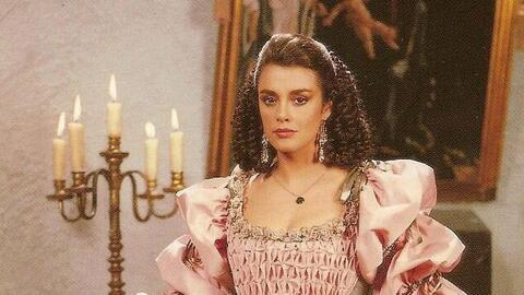 Telenovela 'El extraño retorno de Diana Salazar' (1989).