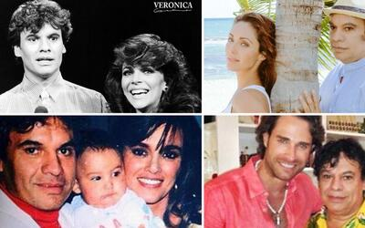 Juan Gabriel y famosos de telenovela