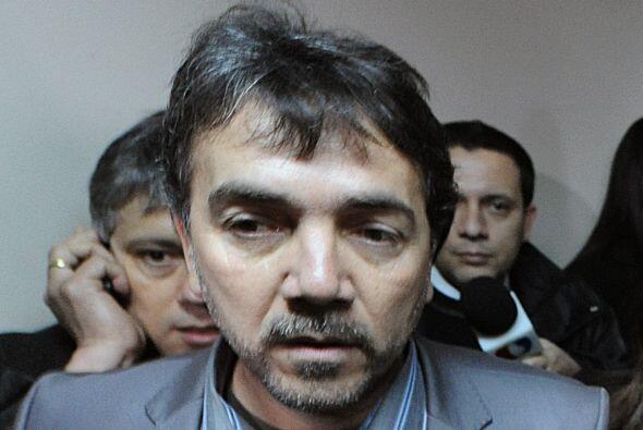 Además también lo acompañaban su representante, José María González, y s...
