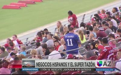 Impacto del SuperBowl en los hispanos de Arizona