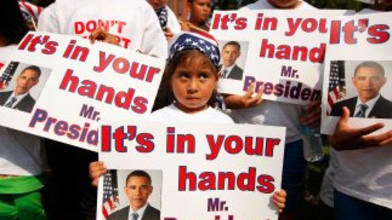 En la actualidad más de 5.100 niños hijos de padres deportados se encuen...