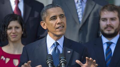 Obama admite que el sitio web para seguro de salud ha tenido problemas