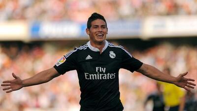 El crack colombiano desea quedarse muchos años en el Real Madrid.