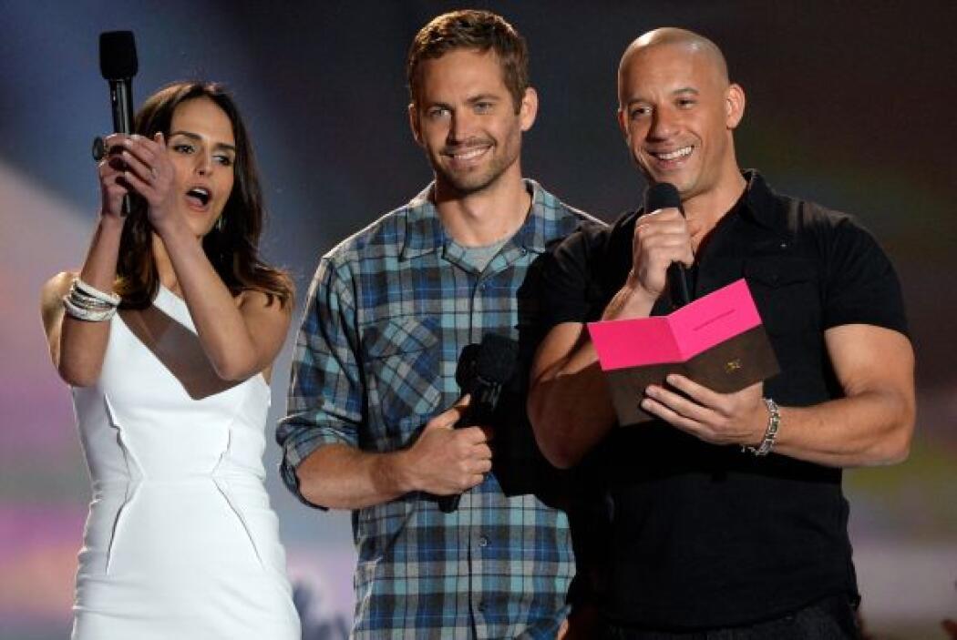 El elenco también volvió a aparecer en los MTV Movie Awards.
