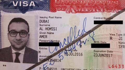 Amer Homssi, médico residente en Chicago y quien es originario de...