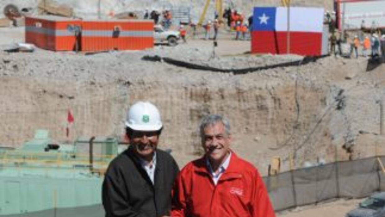 El presidente de Bolivia Evo Morales apoyó a su homólogo en el rescate d...