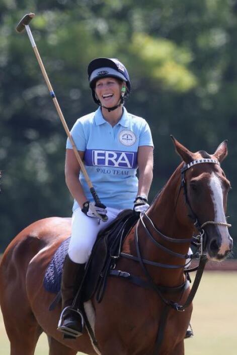 Zara Phillips le dará un nuevo nito a la reina Isabel II de Inglaterra.