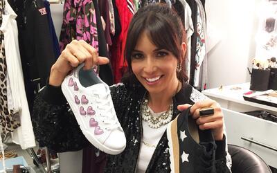 Exclusiva: Giselle Blondet y su adicción por los zapatos