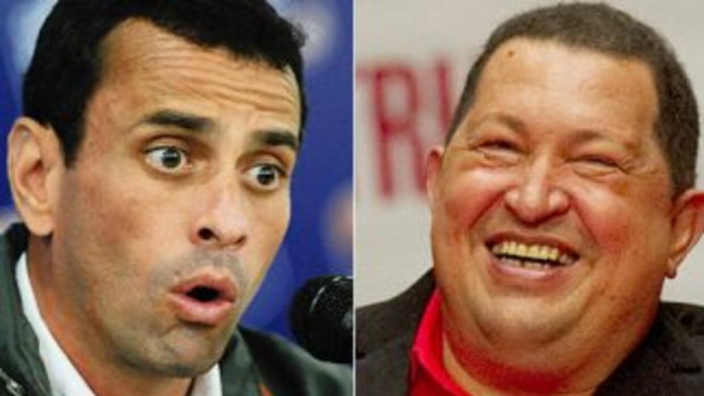 El candidato opositor venzolano, Henrique Capriles, le disputará la pres...