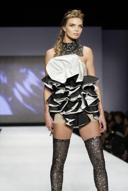 La moda de Chang es para aquellas mujeres atrevidas y que les gustan las...