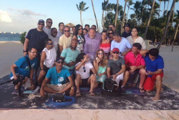 El equipo de El Gordo y la Flaca extrañará mucho República Dominicana.