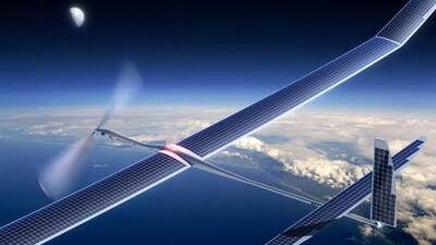 Los drones solares de Titan pueden permaneces en el aire hasta 5 años. (...