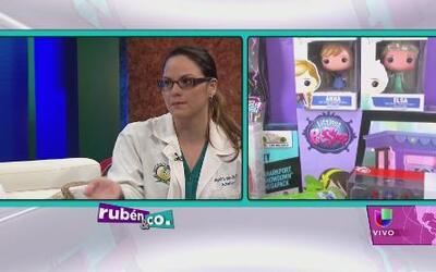 Pediatras explican cómo seleccionar los juguetes correcto para los infantes
