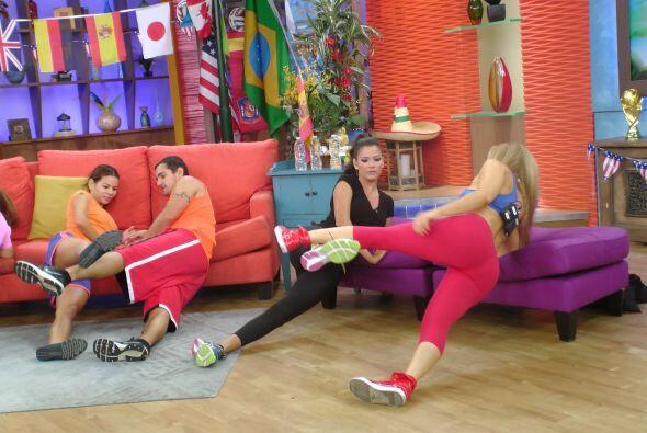 Estos ejercicios se pueden realizar mientras uno ve la televisión.