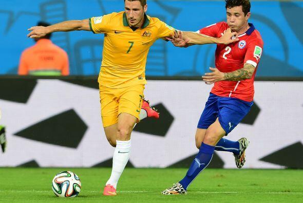 Tras los dos goles anotados, Chile dejó de presionar por lo que A...