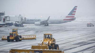 Foto de referencia del aeropuerto de La Guardia en NY en febrero de 2015.