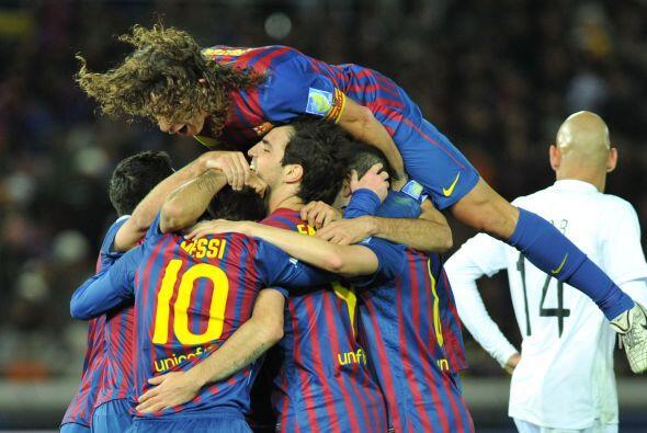 Pues faltaba el cuarto y el segundo en la cuenta personal de Messi.