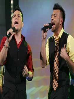 Ambos cantaron con el alma ante su público de Sábado Gigante.