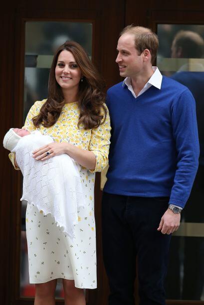 La feliz familia pasará unos días en el palacio de Kensington, en Londres.