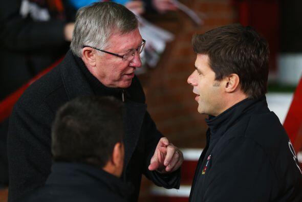 El entrenador de los 'Red Devils', Sir Alex Ferguson, le dio la bienveni...