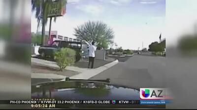 Policía atropelló intencionalmente a sospechoso