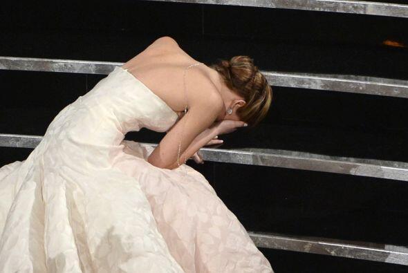 La actriz ganó el Oscar a Mejor Actriz por su papel en 'Silver Linings P...