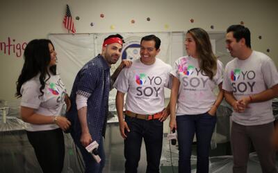 El equipo de Univision 62 se unió a los esfuerzos de la secundari...