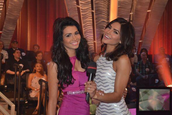 Nuestras reinas de belleza, Marisela Demontecristo y Alejandra Espinoza,...