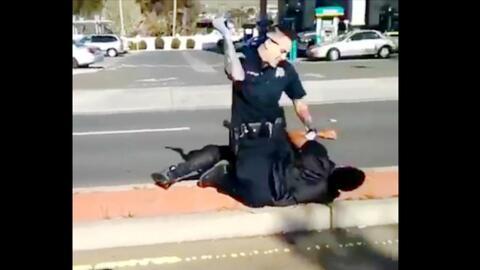 El video de la presunta brutalidad policial en Vallejo, California