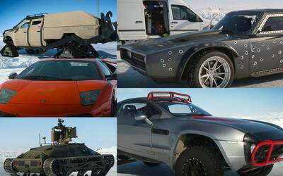 Fuerza y potencia: estos son los autos de The Fate of the Furious