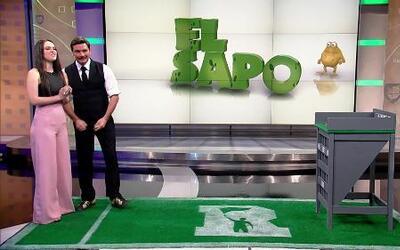 Fabiola Guajardo ganó 600 dólares en el juego del Sapo