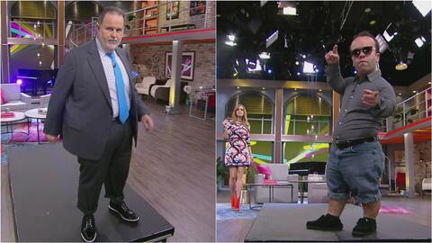 Raúl de Molina y Carlitos 'el productor' se convirtieron en súper modelo...