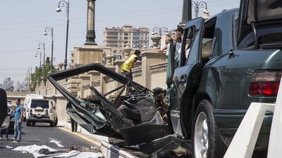 Accidentes de tráfico se reducen con mayor regulación, según la OMS.