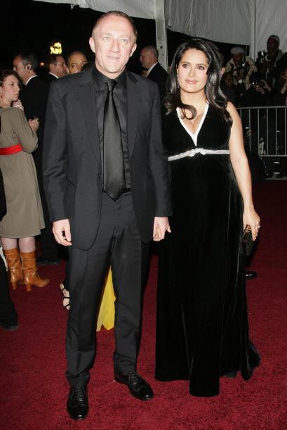 Aquí la actriz y su marido Francois Henri Pinault acudieron a la gala de...