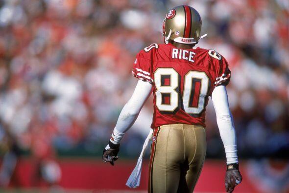 Eso no es nuevo en la NFL, Jerry Rice uno  de los mejores wide receivers...