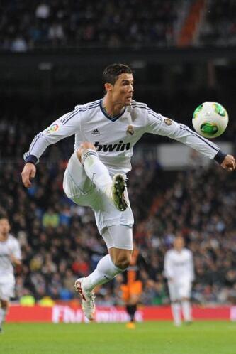 Cristiano Ronaldo volvió a la alineación luego del descalabro madridista...