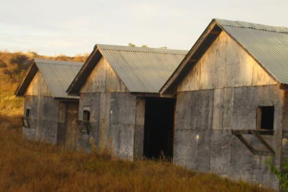 Casa de interrogación en Camp X RAY.  Hay otros campos de detenci...