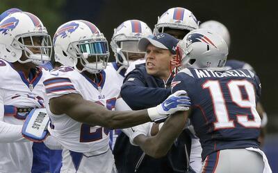 Los Patriots sólo han caído en esta temporada ante los Bills.