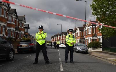 La policía de Londres está vigilante ante el incremento de...