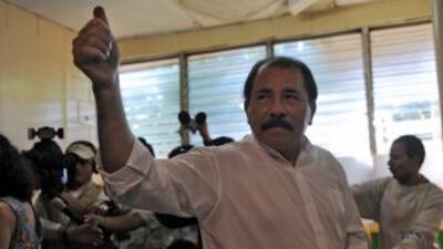 Daniel Ortega fue reelecto presidente de Nicaragua.