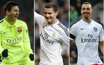 La revista France Football elaboró una lista de los 20 futbolistas mejor...