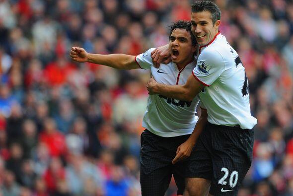 Defensa, Rafael: El lateral del Manchester United tuvo un fin de semana...
