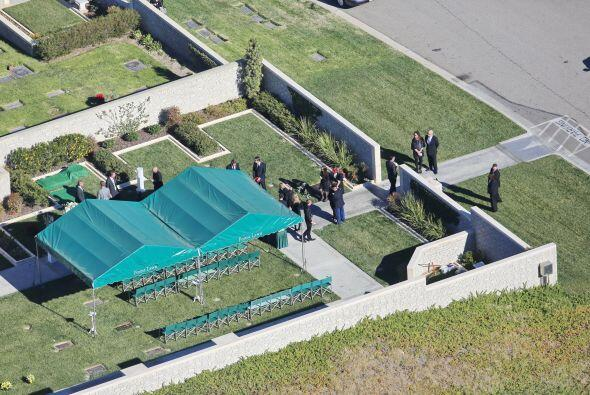 Como el acceso era restringido, se tomaron fotos vía aérea. Mira aquí lo...