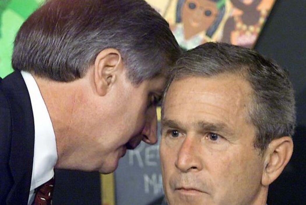¿Y el presidente de entonces, George W. Bush? Cuando ocurrieron los ataq...