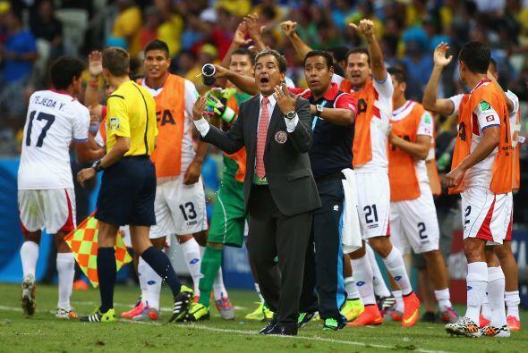 Jorge Luis Pinto por el contrario transmitió seguridad a su equip...