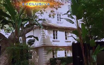Entra en exclusiva a la casa donde vivió Luis Miguel en Los Angeles