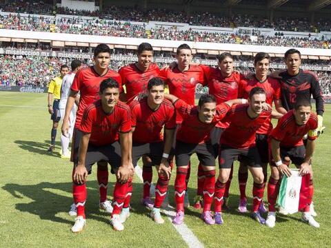 La selección mexicana tuvo un encuentro discreto pero logr&oacute...